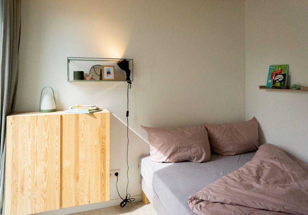 Als Einzel- oder Doppelzimmer belegbar