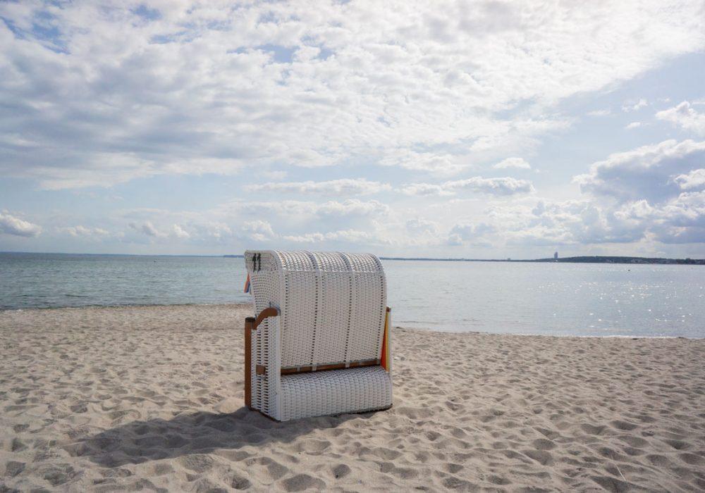 Am Strand neue Energie tanken