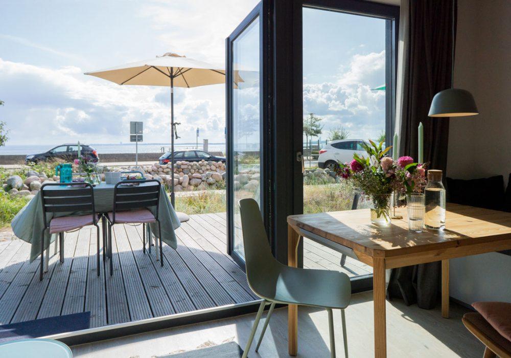 Meerblick Blick vom Gruppenhaus Flunder&Hering