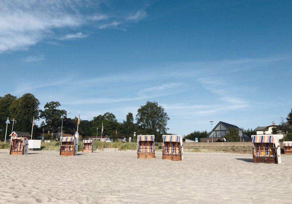 Direkt am Strand der Ostsee gelegen