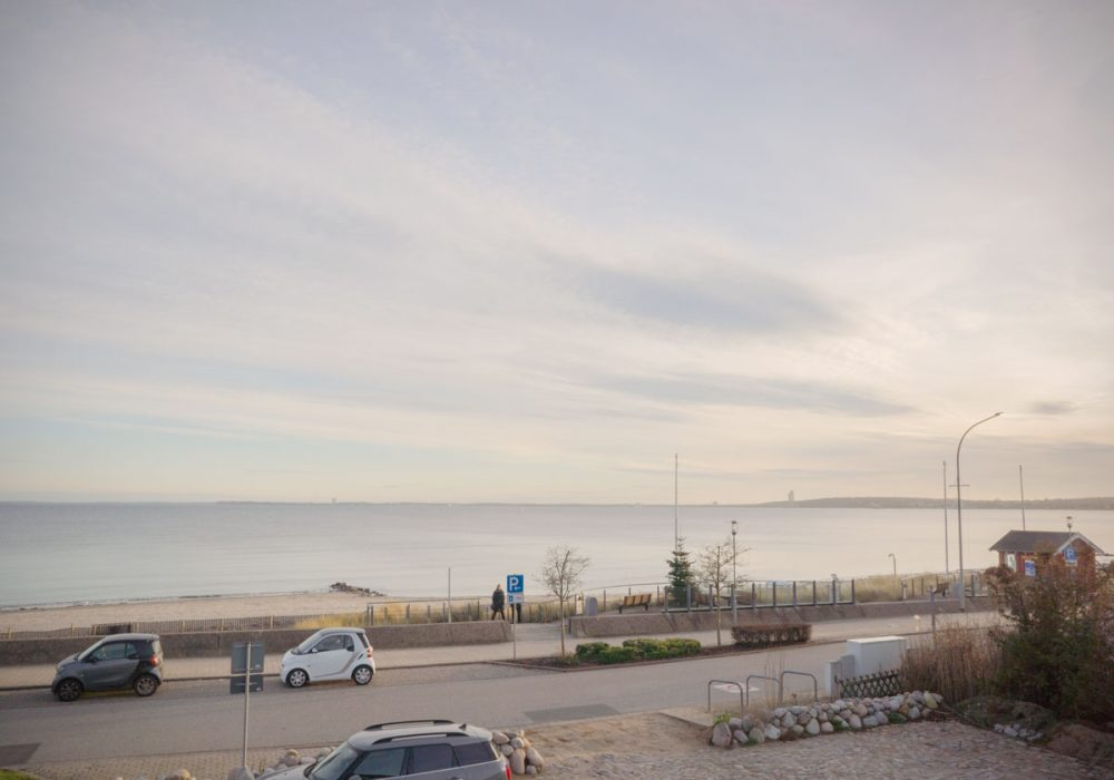 Blick auf dieBlick vom Balkon des Seminarraum Ostsee