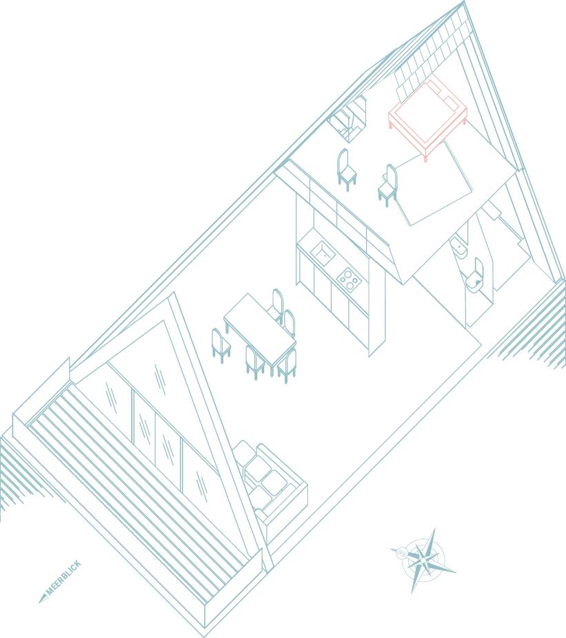 Grundriss Wal im Seminarhaus