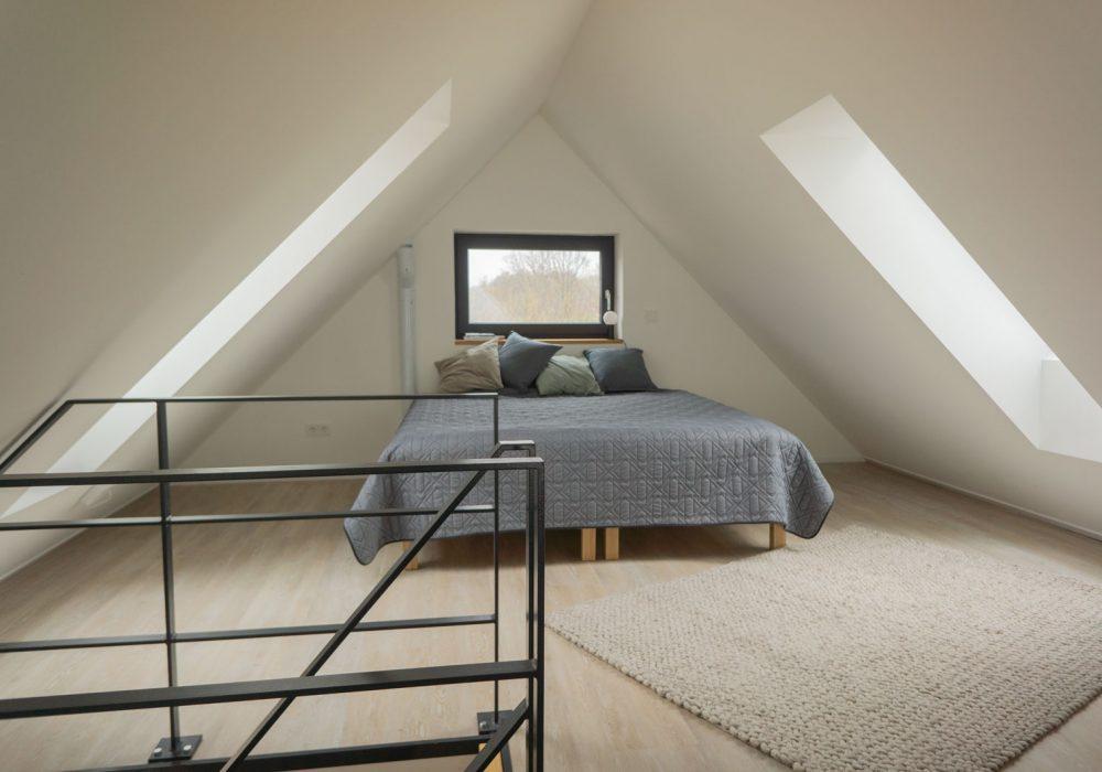 Schlafbereich im Seminarhaus und Gruppenhaus Flunder&Hering