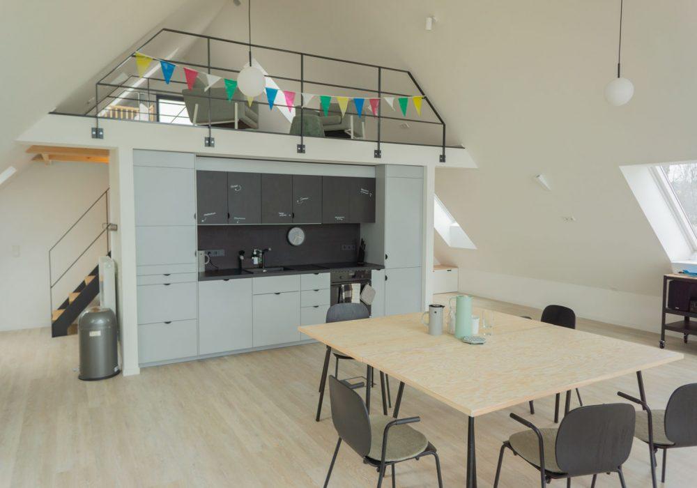 Küche im Seminarhaus und Gruppenhaus Flunder&Hering