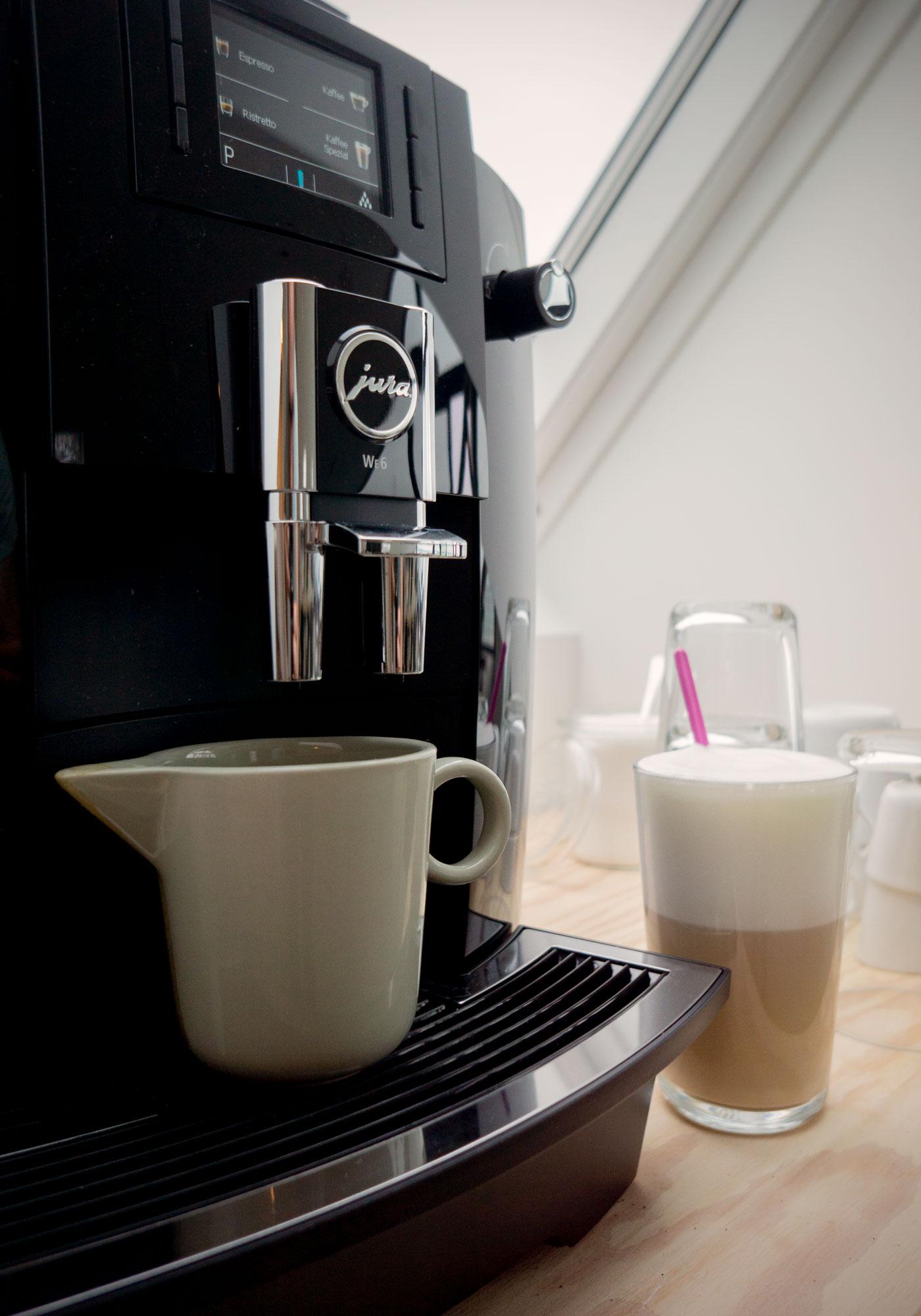 Kaffeemaschine im Seminarraum